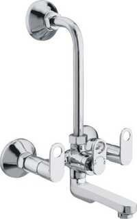 Wall Mixer Tele. with L Bend