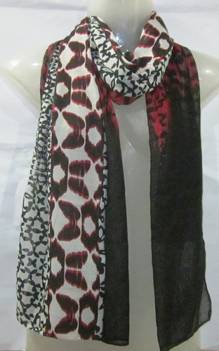 Poly Voile Printed Scarve