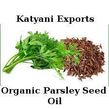 Organic Parsley Seed Oil