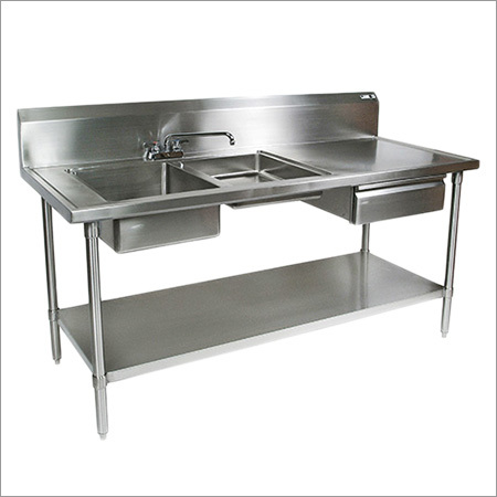 Two Sink Table