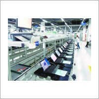 Computer Laptop Assembly Line Conveyor