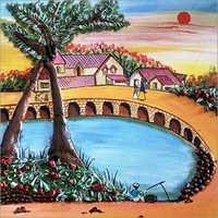 Village Modern Painting