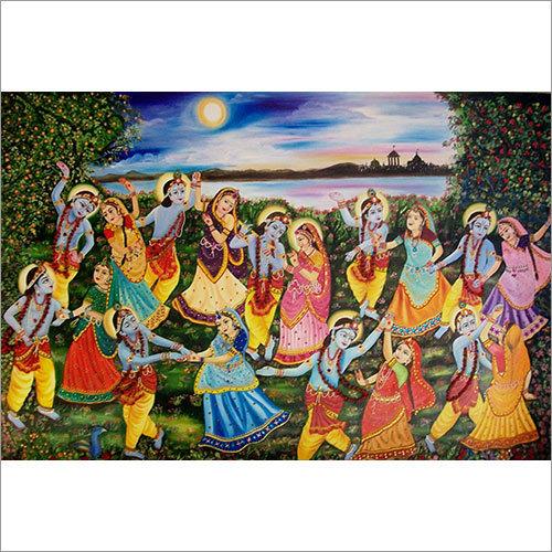 Beautiful Krishna Painting