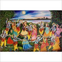 Beautiful Krishna Painting