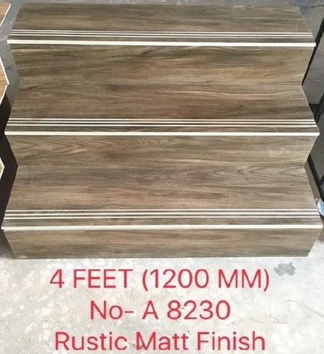 Step Stair Rustic Matte Finish | 4Feet (1200mm)