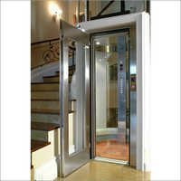 Home Lift Stainless Steel Swing Door With Glass