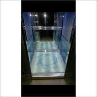 Glassed Flooring With Lightings
