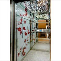 Printed Glassed Lift Cabin