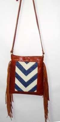 Designer Sling Fringe Bag