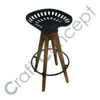 TRACKER METAL SEAT BAR STOOL