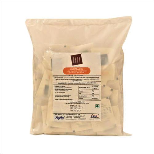 Sugar Free Sweetener Sucralose Sachet Powder