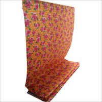 Floral Printed Mattress Sheet