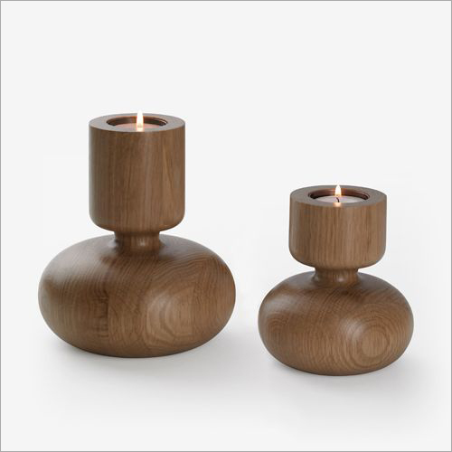 Candle Wooden Stand