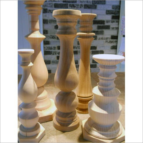 Wooden Candlestick Candle Stand