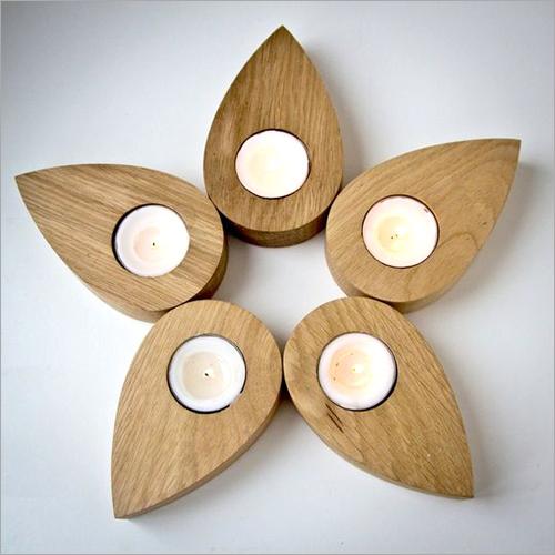 Flower Shape Candle holder