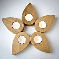 Flower Shape Candle holder
