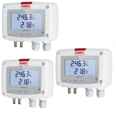 Kimo Temperature And Differential Pressure Transmitter – CP 215