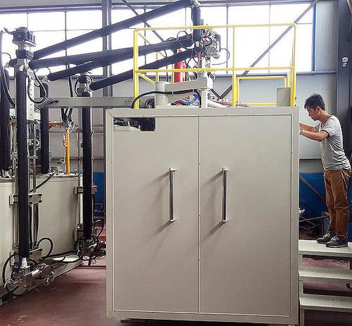 Static Mixer Vacuum Resin Casting Machine