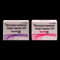 Isotretinoin 10/20 mg soft Gel. Capsule ( Isoret - 10/20 Cap)