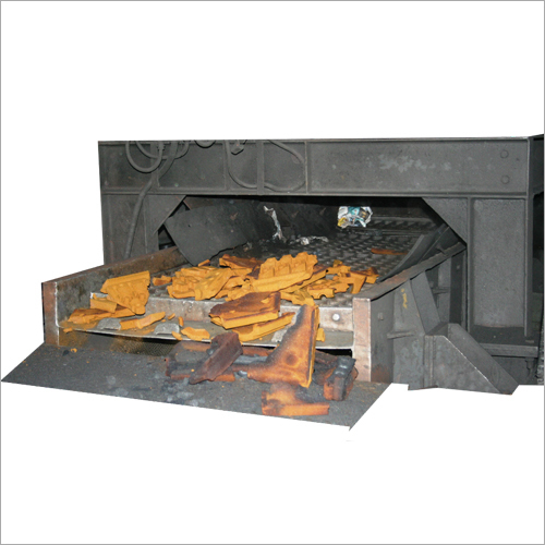 Foundry Mould Shake-Out & Knock-Outs