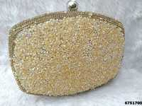 New Designer Sparkle Box Clutch