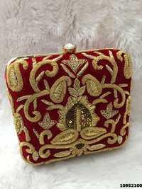 Designer Ethnic Box Clutch