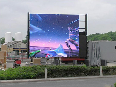Outdoor Advertising LED Video Wall Display