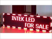 Intek Red LED Display