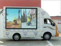 Advertising Vehicle Display
