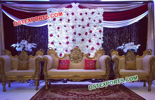 Newly Carved Sofa Set for Wedding