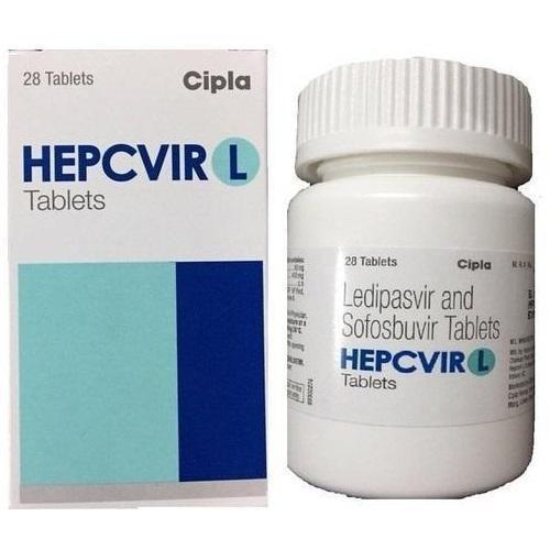 Hepcvir L - Sofosbuvir 400Mg And Ledipasvir 90Mg