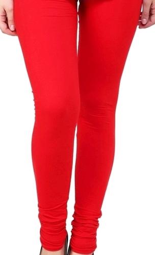 Women Red Leggings