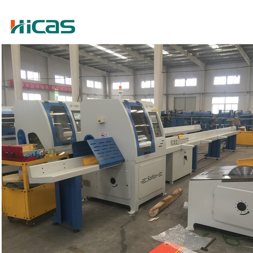 Auto Cross Cutting Machine Automatic Cross Cut Saw