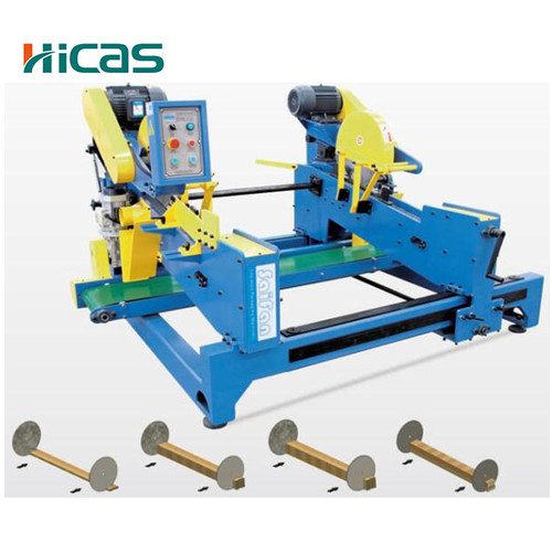 Double Blade Circular Saw Machine