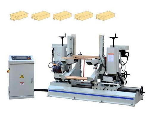 CNC wood double end tenoning machine