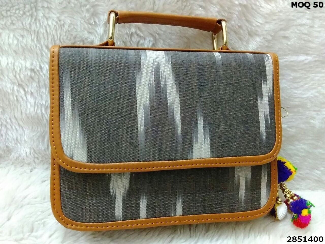 Ikat Fabric Sling Bag