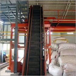Strong Inclined Belt Conveyor