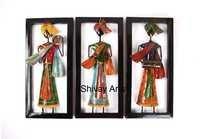 Shivay Arts Ethnic Rajasthani Colourful Metal Iron Musician Wall Decor Wall Hanging