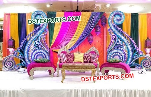 Colorful Stage Decoration for Wedding
