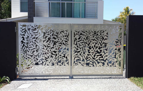 Stainless Steel Laser Cut Design Gates