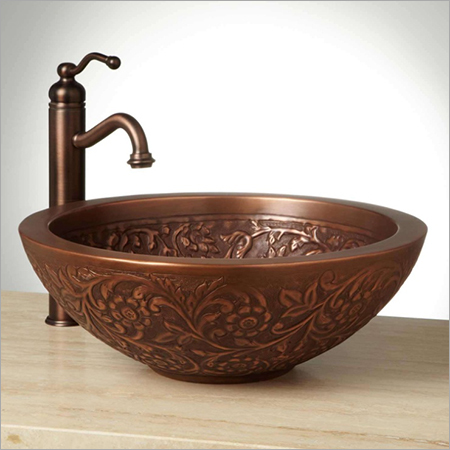 Coram Double-Wall 16 Copper Vessel Sink