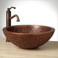 Coram Double-Wall 16 Copper Vessel Sink