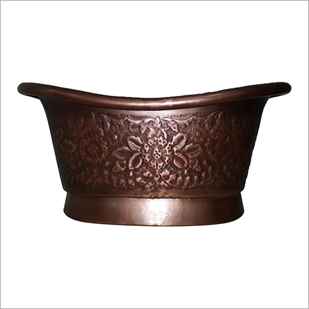 Bathtub Shape Copper Sink (Baby Bathtub)