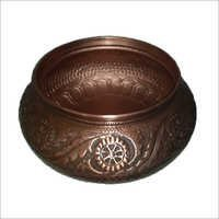 Lenora Double-Wall 16 Copper Vessel Sink