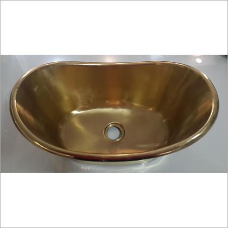 Bathtub Shape Copper Sink (Baby Bathtub)