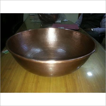 Double Wall Copper Vessel Sink