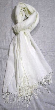 Modal diamond weave pashmina Shawls with fringes