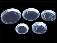 Silver Laminated Disposable Plate