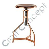 ROUND ADJUSTABLE STOOL