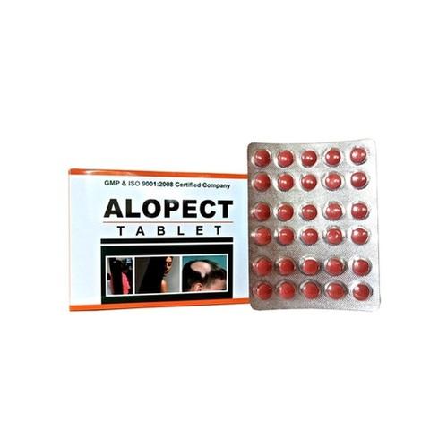 Ayurvedic Herbal Tablet For Hair Loss - Alopect Tablet